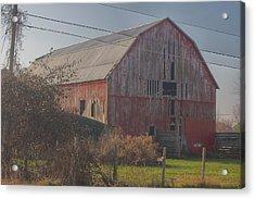 0153 - Dodge Road Red I Acrylic Print