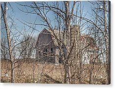 0162 - Hill Road Grey I Acrylic Print