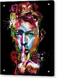0203 Bowie By Nixo Acrylic Print