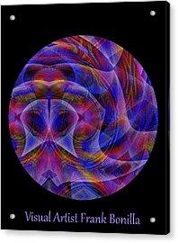 Acrylic Print featuring the digital art #021120163 by Visual Artist Frank Bonilla
