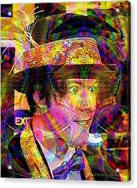Acrylic Print featuring the digital art #021320164 by Visual Artist Frank Bonilla