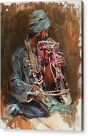 023 Sindh B Acrylic Print by Mahnoor Shah