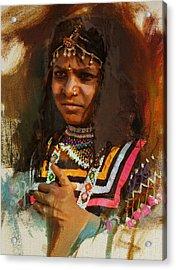 025 Sindh B Acrylic Print
