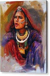 027 Sindh Acrylic Print