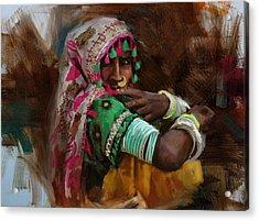029 Sindh Acrylic Print