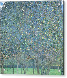 Pear Tree Acrylic Print by Gustav Klimt
