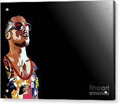 033. We Acrylic Print by Tam Hazlewood