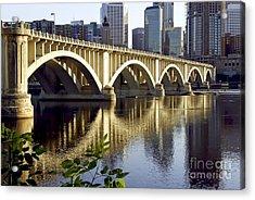 0333 3rd Avenue Bridge Minneapolis Acrylic Print