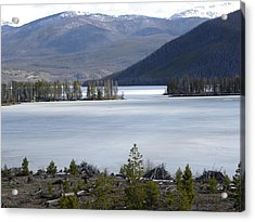 Granby Lake Rmnp Acrylic Print