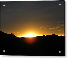 Sunrise West Side Of Rmnp Co Acrylic Print