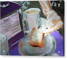 040517 Beni Gets And Coffee Acrylic Print
