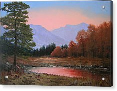051116-3020     First Light Of Day   Acrylic Print by Kenneth Shanika