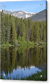 Chambers Lake Hwy 14 Co Acrylic Print