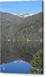 Chambers Lake Reflection Hwy 14 Co Acrylic Print