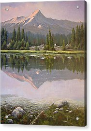 060923-2430  Reflections At Days End   Acrylic Print by Kenneth Shanika