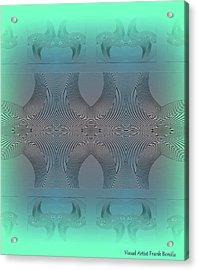Acrylic Print featuring the digital art #061220171 by Visual Artist Frank Bonilla