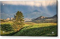 #0613 - Absaroka Range, Paradise Valley, Southwest Montana Acrylic Print