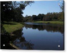 071115 Louisiana Bayou Acrylic Print