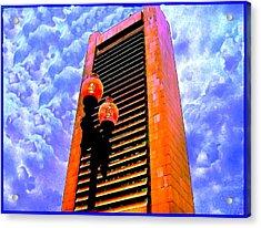 080b  Federal Reserve  Boston Acrylic Print by Ed Immar