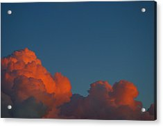 Fireclouds Acrylic Print