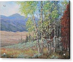 090925-68   The Peak Of Summer Acrylic Print by Kenneth Shanika