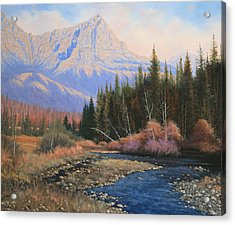 091022-2024  Into The Back Country Acrylic Print by Kenneth Shanika