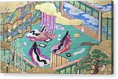 絵巻風#絵巻 #japanesepainting Acrylic Print by Tomoko Nakai