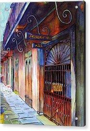 16  Preservation Hall Acrylic Print by John Boles