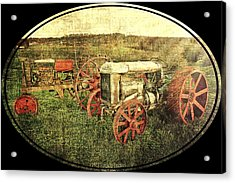 Vintage 1923 Fordson Tractors Acrylic Print