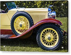 1930 Vauxhall Hurlingham Boattail Acrylic Print by Jack R Perry