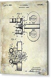 1931 Movie Camera Patent Acrylic Print
