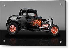 1932 Ford 5 Window Acrylic Print by Frank J Benz