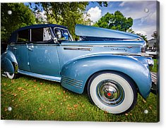 1941 Packard 120 Convertable Sedan Acrylic Print by Jack R Perry