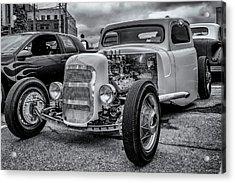 1948 Mercury Pickup Hot Rod Acrylic Print by Ken Morris