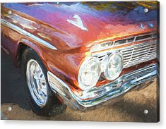 Acrylic Print featuring the photograph 1961 Chevrolet Impala Ss  by Rich Franco