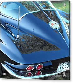 1963 Corvette Acrylic Print