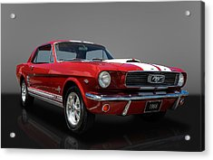 1966 Ford Mustang Coupe Acrylic Print