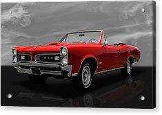 1966 Pontiac Gto 389 Tri-power Acrylic Print