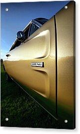 1968 Dodge Charger Hemi Acrylic Print by Gordon Dean II
