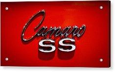 1969 Chevrolet Camaro 2-door Hardtop Acrylic Print