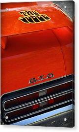 1969 Pontiac Gto The Judge Acrylic Print by Gordon Dean II