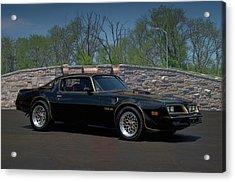 1978 Pontiac Trans Am Acrylic Print