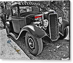 34 Ford Rat Rod Pickup Acrylic Print