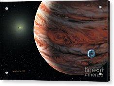 55 Cancri 2007 Acrylic Print by Lynette Cook