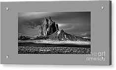 90167 Shiprock Panorama Acrylic Print
