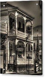 905 Royal Hotel Acrylic Print