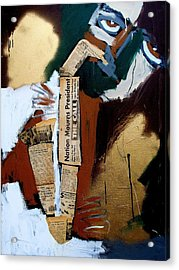 A Blues For Camelot Acrylic Print by Harold Smith