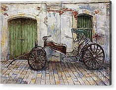 A Carriage On Crisologo Street 2 Acrylic Print