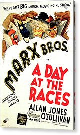 A Day At The Races 1937 Acrylic Print by M G M