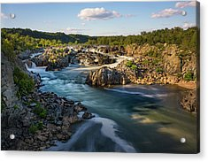 A Day In The Life Of A River Acrylic Print